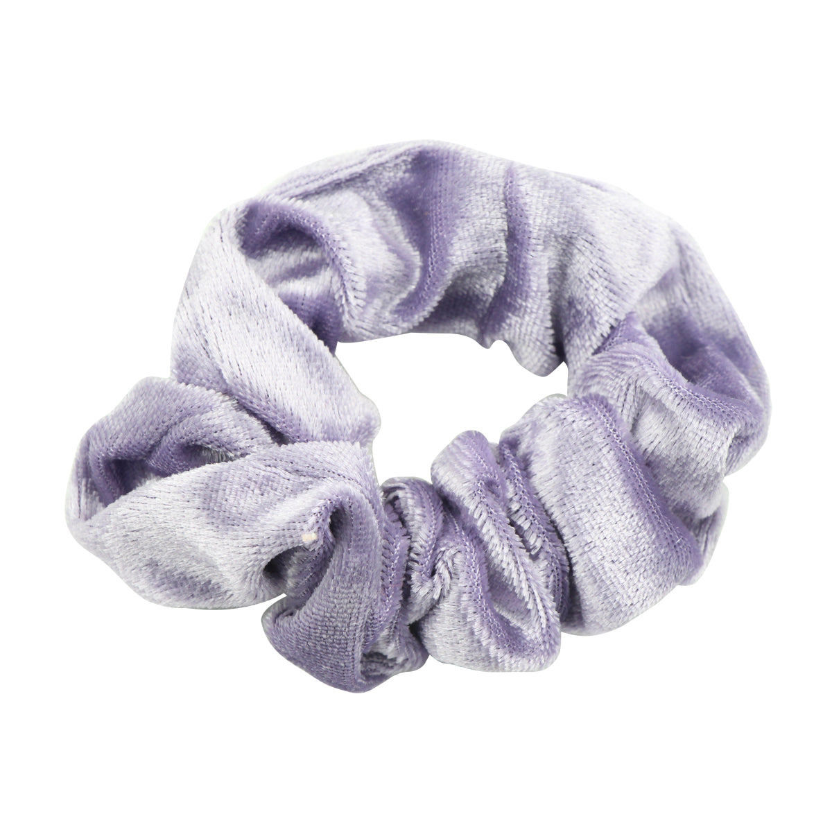 eco friendly hair scrunchies custom purple velvet elastic scrunchy hair band adult women hair accessories  5495 - SOHOBUCKS CO.,LIMITED