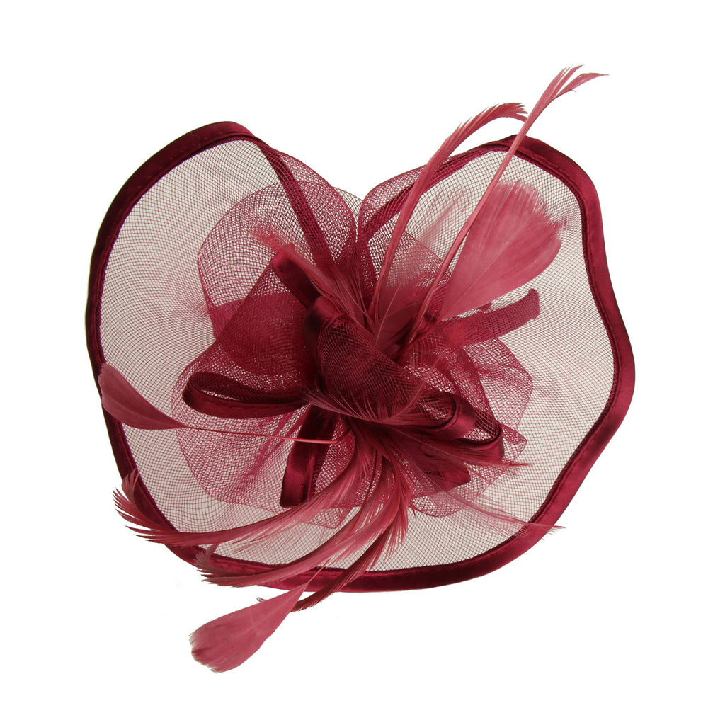 fascinator base Party fashion latest design Millinery Headpiece  fascinator fabric hairband women headband for ladies 7216