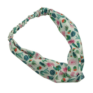 girl turban head wrap custom print head wrap elastic fabric headband 7076 - SOHOBUCKS CO.,LIMITED