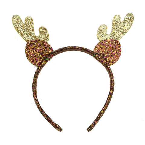 glitter PU leather elf ears hairband teenage girls deer ears headband halloween OX ears headband wholesale from audit supplier5958