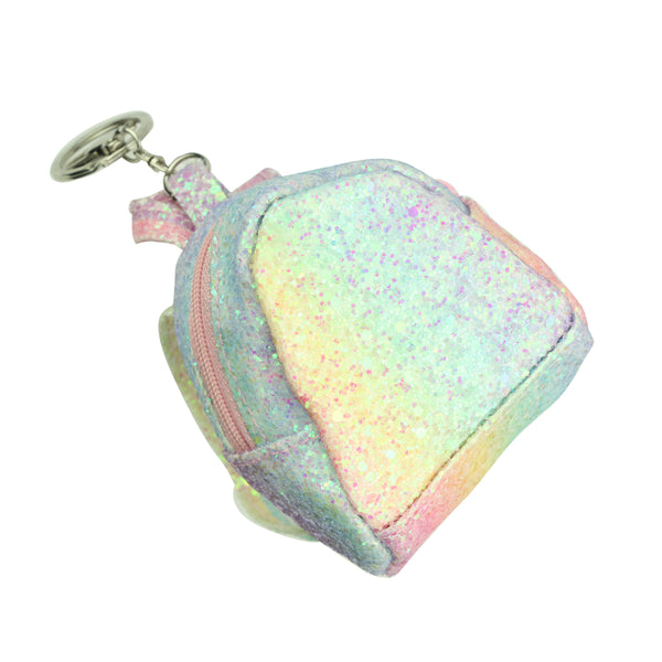 glitter coin purse,key ring coin purse with zipper,coin purse backpack,coin purse leather custom backpack zipper bag8004 - SOHOBUCKS CO.,LIMITED