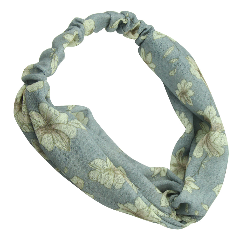 headband women's bandana print twisted,custom print silk headband,headband women's bandana print twisted7785 - SOHOBUCKS CO.,LIMITED