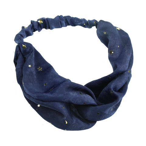 iron on star custom cross hairband headband women twist head wrap iron on stars7052 - SOHOBUCKS CO.,LIMITED