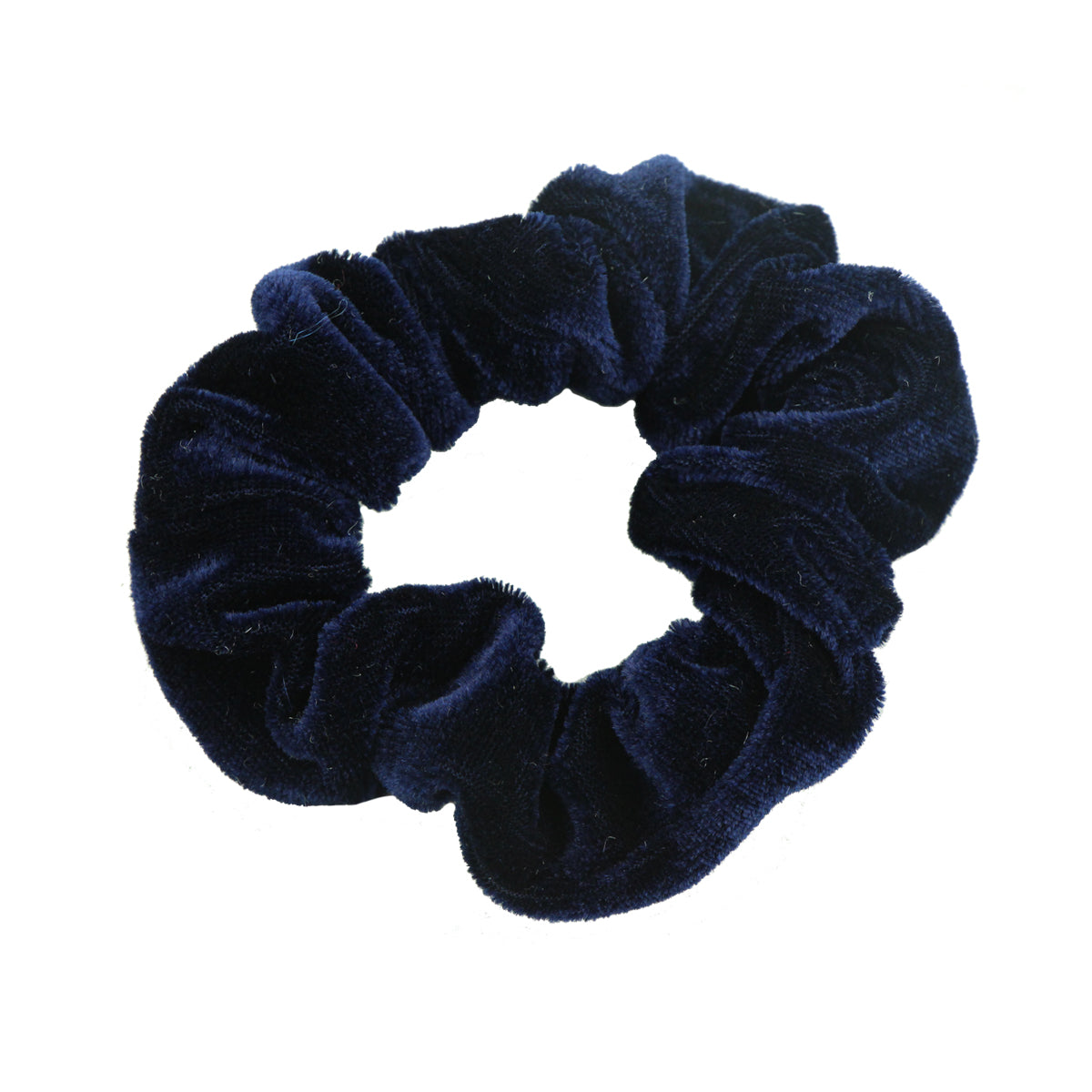 large blue velvet hair scrunchies adult teenage girls kmart fashion hair accessories supplier 5498 - SOHOBUCKS CO.,LIMITED
