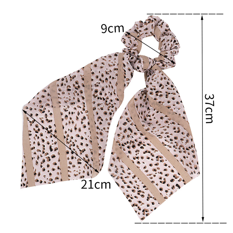 hair scarf scrunchies,leopard scrunchies hair ties,stripe scrunchies hairband90810