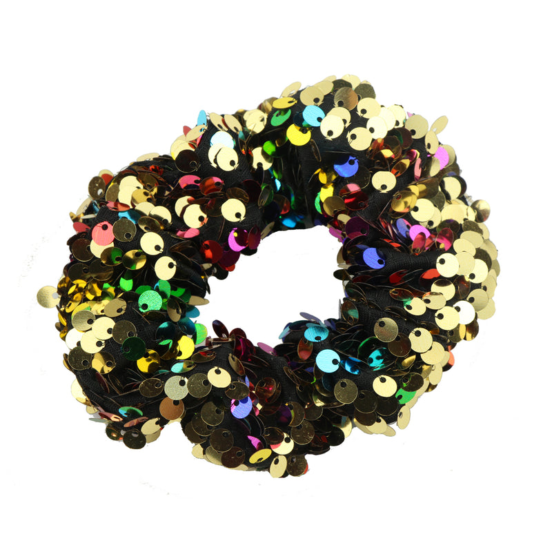 mermaid revisable sequin colorful glitter hair scrunchies fabric ponytail holder6116 - SOHOBUCKS CO.,LIMITED
