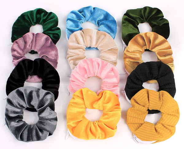 pocket scrunchies assorted color