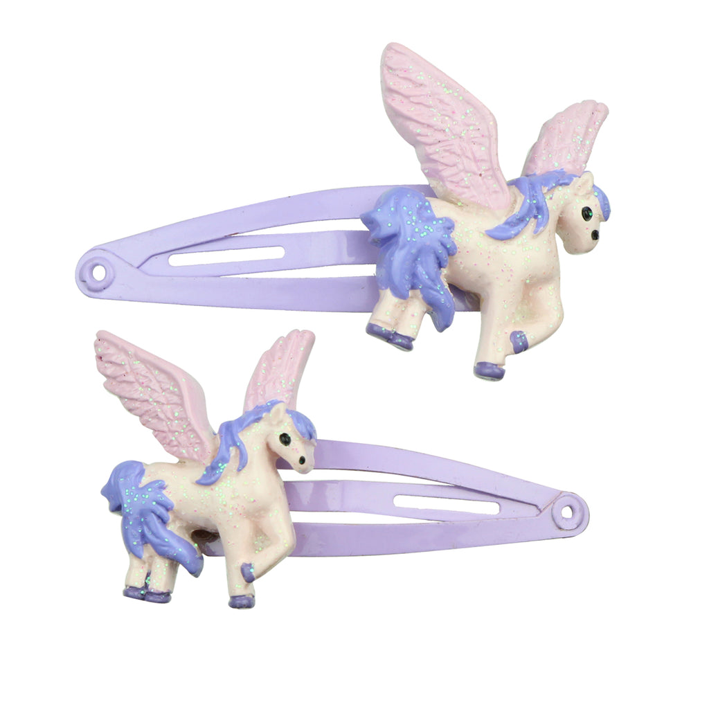 poly resin handmade latest fancy kid unicorn hair clip  resin animal hair accessory set wholesale 7693