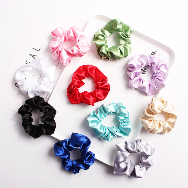 scrunchies assorted color