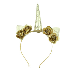 unicorn hair accessories gold unicorn headband unicorn party supplies unicorn party set 6106 - SOHOBUCKS CO.,LIMITED