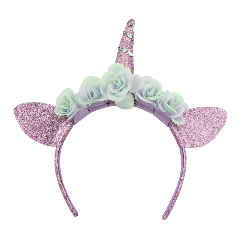 unicorn party hair accessories suede leather cat ears unicorn decorative alice hairband 5931