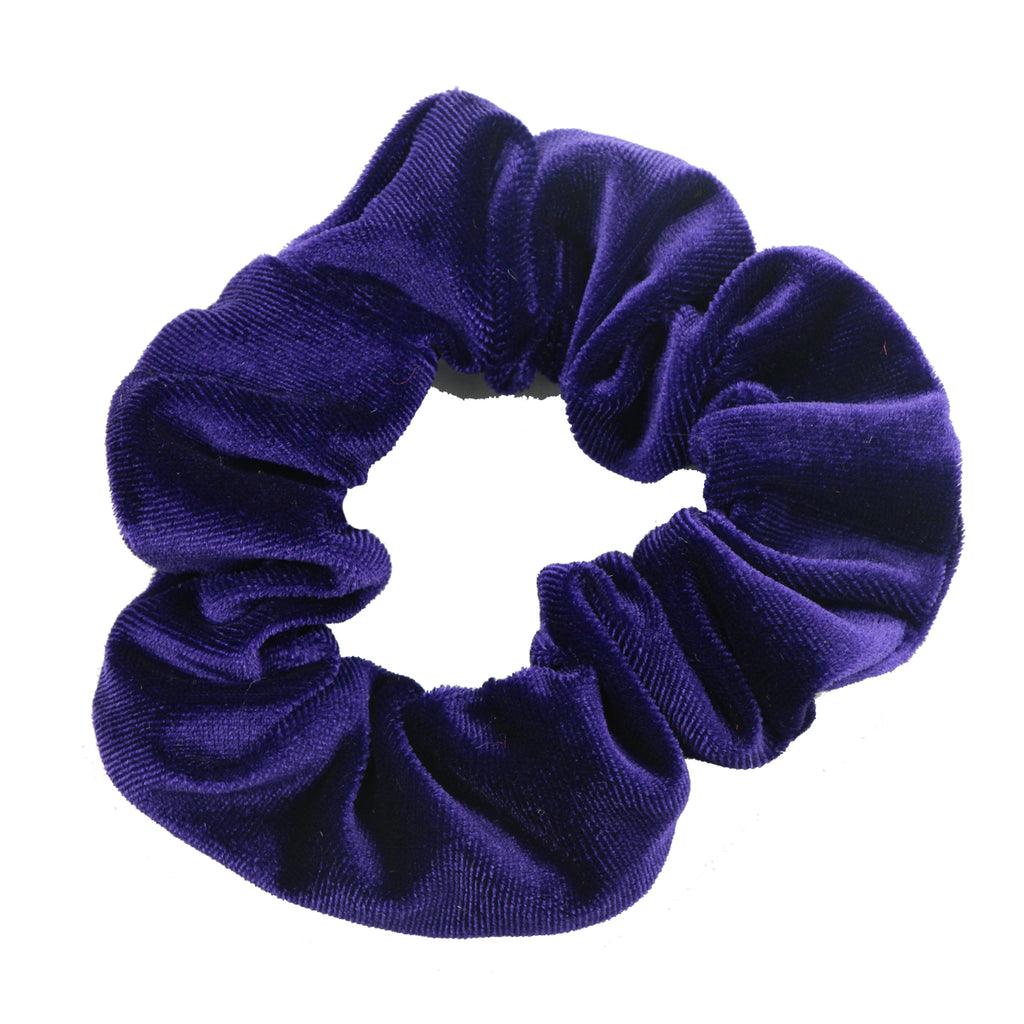 velvet hair scrunchies 36 pack, striped hair scrunchies,purple handmade scrunchies wholesale at factory price5611