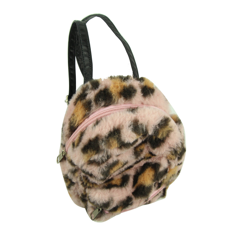 wholesale fashion coin purse custom animal print leopard backpack coin purse8011