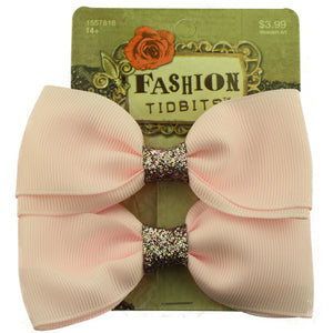 wholesale grosgrain ribbon hair bow plain hair alligator clip factory price from SGS assessed factory - SOHOBUCKS CO.,LIMITED