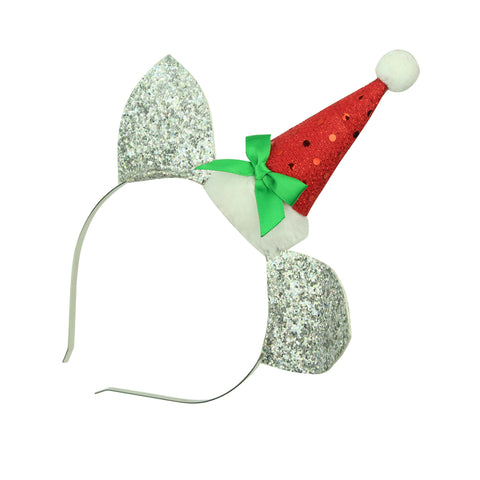 xmas hat cat ears elf hair headband party hair accessories supplies8145 - SOHOBUCKS CO.,LIMITED