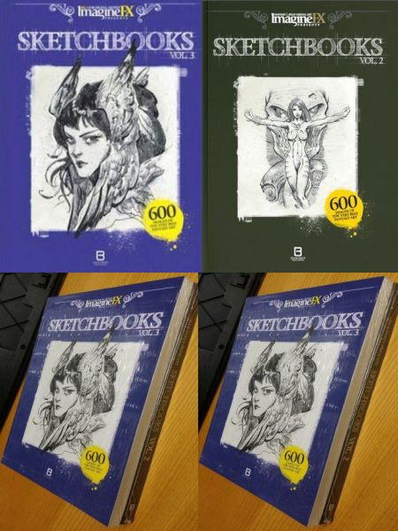 Imagine fx Sketch book Set volume. 2 & 3