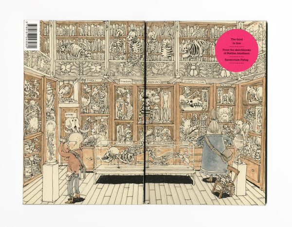 The Third In Line From The Sketchbooks Of Mattias Adolfsson