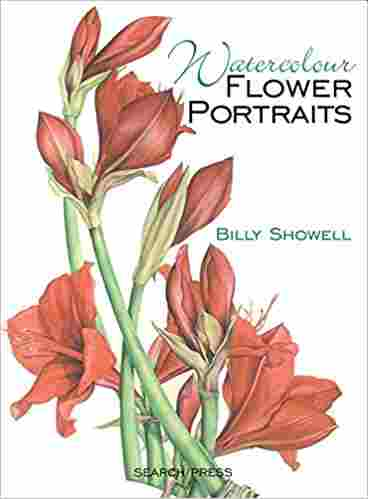 Watercolour Flower Portraits Paperback