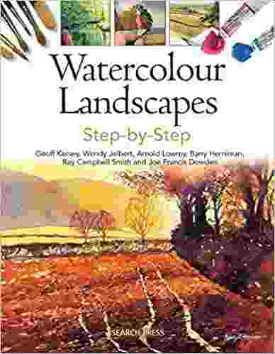 Watercolour Landscapes Step-by-Step Paperback