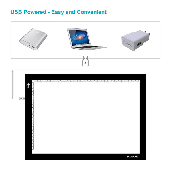 Huion L4s A4 LED LIGHT PAD