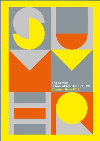 The Bartlett Summer Show Book 2019