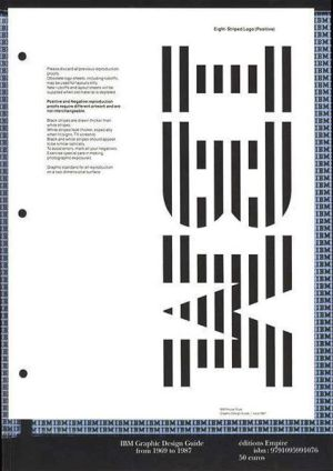 Ibm - Graphic Design Guide From 1969 To 1987