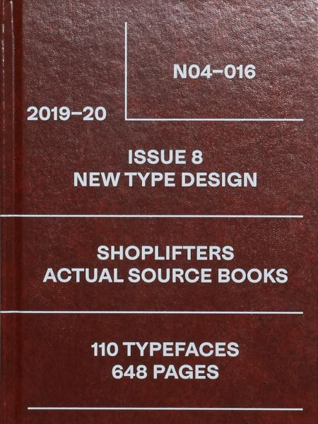 Shoplifters, Issue 8: New Type Design (Revised and Expanded)