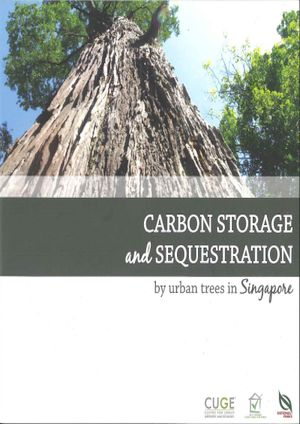 Carbon Storage and Sequestration by urban trees in Singapore