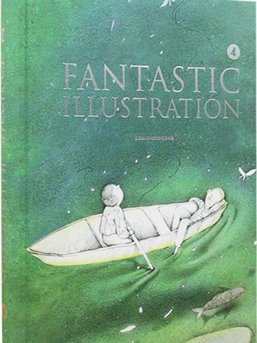 FANTASTIC ILLUSTRATION 4 Wonderful Illustration Art Works English Graphic Design Books