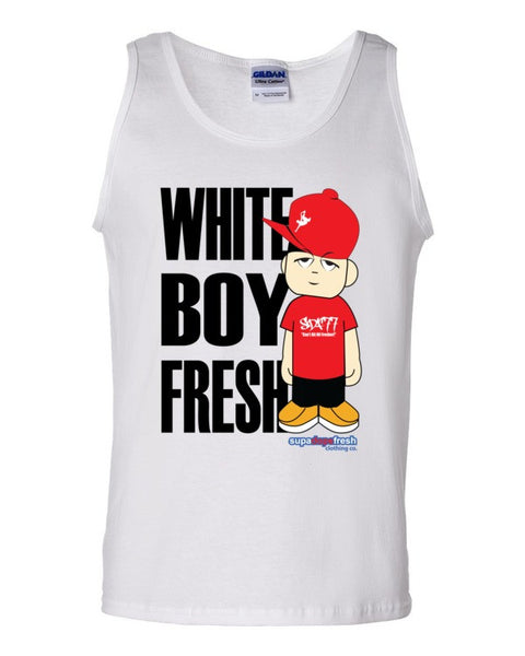White Boy Fresh Tank top