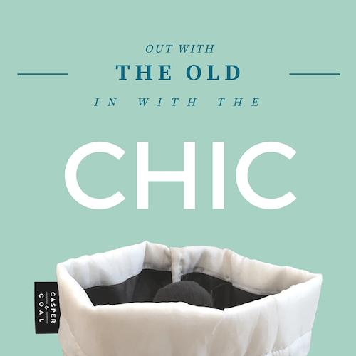 Out With The Old, In With The Chic (And a bit of our story…)