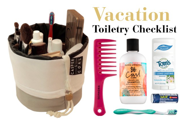 The 12 Travel Essentials: Vacation Toiletry Checklist