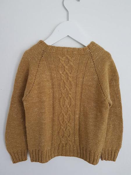 Copy of Sweater med dobbelt snoning - Majlunds.dk