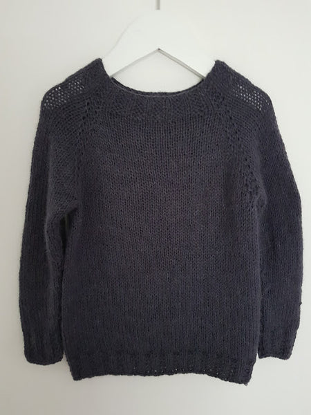Lun Klassisk sweater(kit) - Majlunds.dk