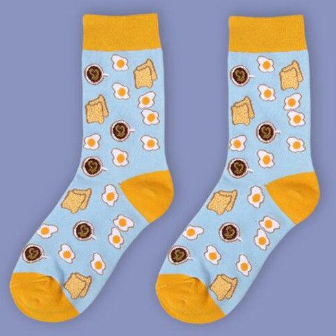 IUYZW EGG&BREAD SOCKS