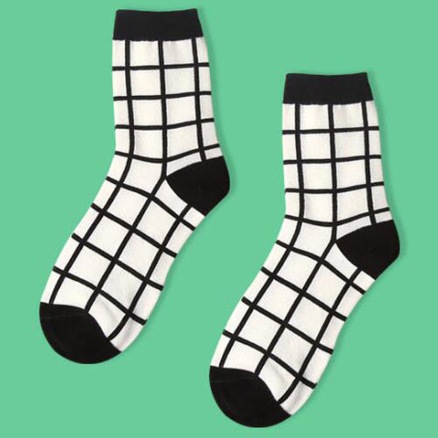 BIG GRID SOCKS