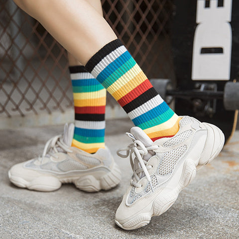 RAINBOW COTTON SOCKS