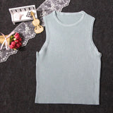 SlogPith SLIM SOLID TANK TOPS