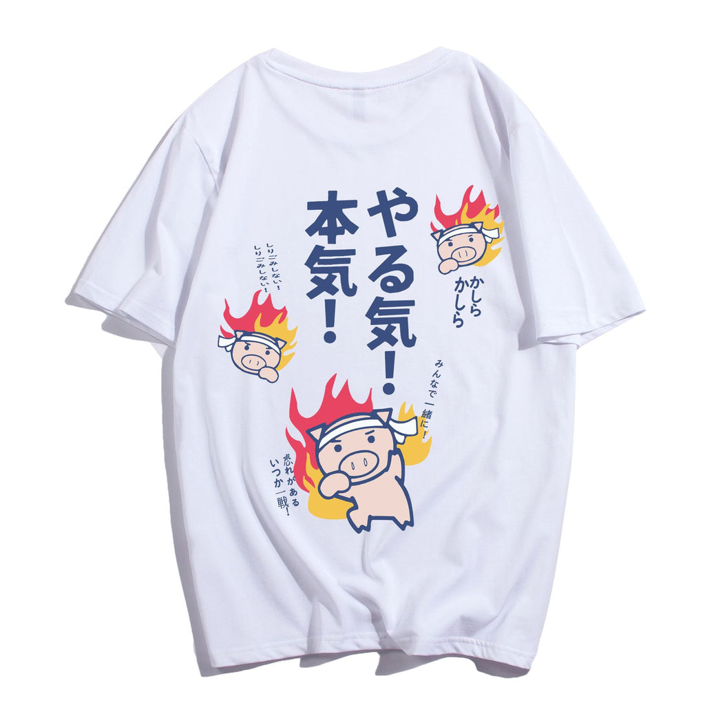 SlogPith HARAJUKU CARTOON PRINTED TEES
