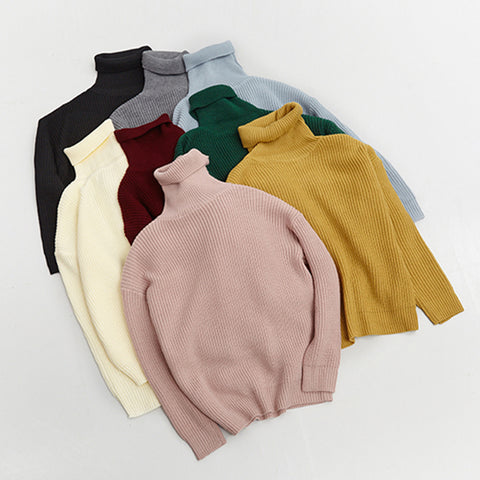 8 COLORS SOLID COLOR KEEP WARM SWEATERS (TICKER)