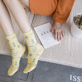 CACTUS COTTON SOCKS
