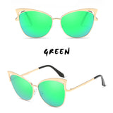 11 COLORS COLORFUL CAT EYE SUNGLASSES