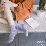 IUYZW CACTUS COTTON SOCKS