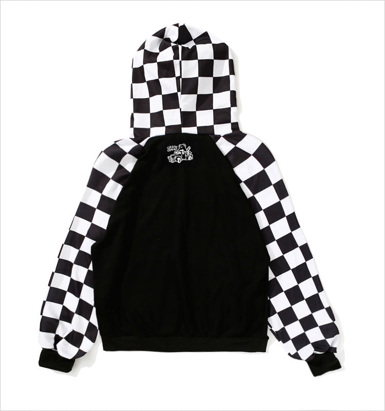 CHECKERBOARD PATCHWORK SWEATERS