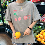 SlogPith FRUIT PRINTED LOOSE TOPS