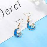 BLUE MOON STAR EARRINGS 2