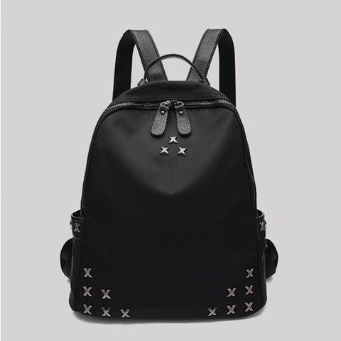 FASHION CASUAL METAL X BACKPACKS