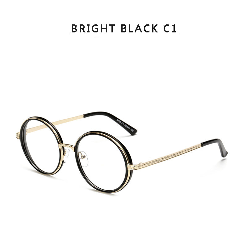 8 COLORS RETRO METAL ROUND GLASSES