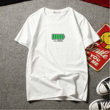BATTERY PRINTED SHORT-SLEEVED TEES