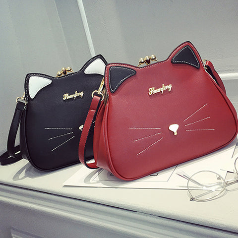 2 COLORS KITTY BAGS